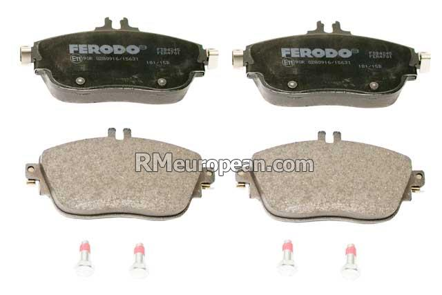 FERODO Brake Pad Set 0004203002