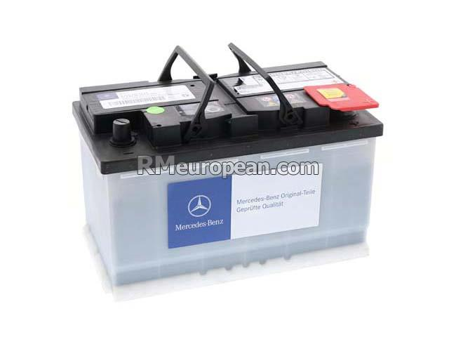 Mercedes benz genuine mercedes battery 12v 84ah 0009823208 for Genuine mercedes benz battery