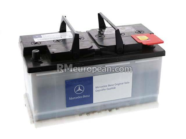 Mercedes benz genuine mercedes battery 12v 100ah for Genuine mercedes benz battery