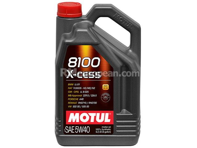Mini Cooper Paceman S ALL4 Hatchback R61 1.6L L4 Engine Oil - MOTUL 8100 X-cess - 5W-40 Synthetic (5 Liter)