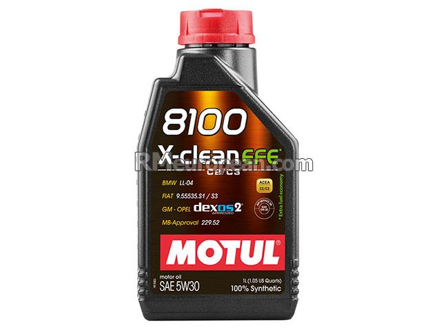 Saab 9-3 Linear Sedan  2.0L L4 Engine Oil - MOTUL 8100 X-clean EFE - 5W-30 Synthetic (1 Liter)