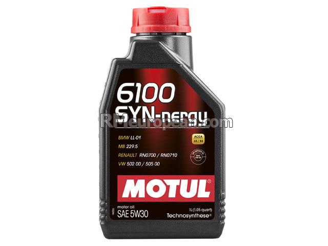 Mini Cooper Paceman S ALL4 Hatchback R61 1.6L L4 Engine Oil - MOTUL 6100 SYN-nergy - 5W-30 Synthetic (1 Liter)