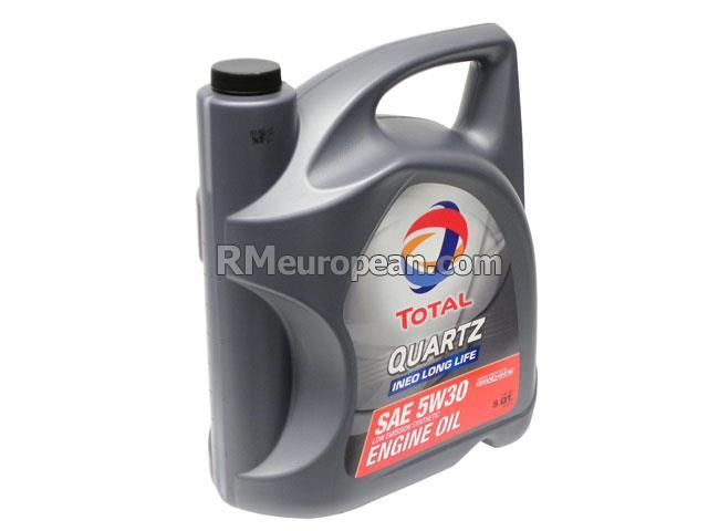 TOTAL QUARTZ INEO LONG LIFE Engine Oil - Total Quartz INEO Long Life -  5W-30 Synthetic (5 Quart) 188058