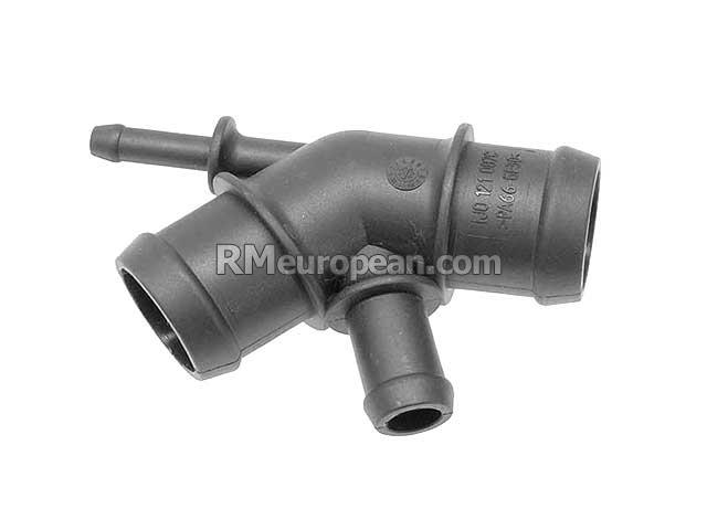 Audi Volkswagen Distribution Connector water hose With opening //thermal switch