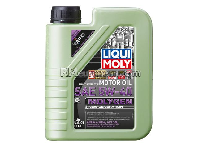 Mercedes-Benz 300SEL   2.8L L6 Engine Oil - Liqui Moly Molygen New Generation - 5W-40 Synthetic (1 Liter)