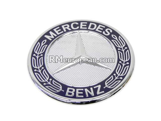 Mercedes benz genuine mercedes mercedes hood badge 2078170316 for Mercedes benz bonnet badge