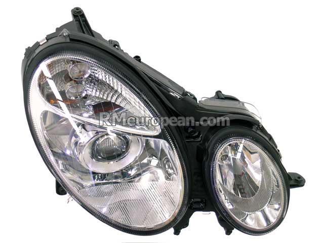 Mercedes benz hella headlight assembly halogen 2118200461 for Mercedes benz headlight assembly