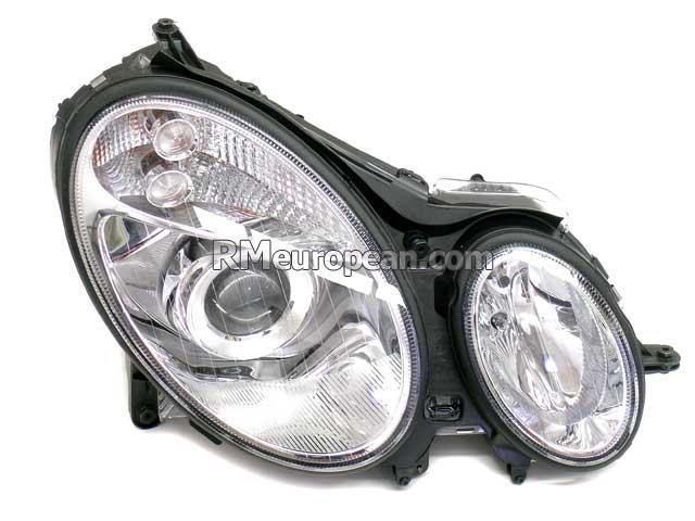 Mercedes benz hella headlight assembly bi xenon 2118201861 for Mercedes benz headlight assembly