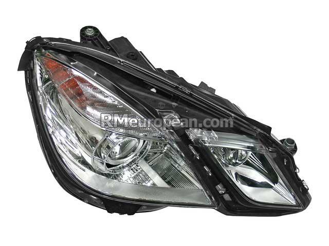 Mercedes benz hella headlight assembly bi xenon 2128201239 for Mercedes benz headlight assembly