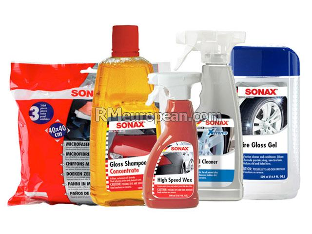 Sonax Detail Cleaning Kit Sonax Premium Exterior Car Wash Kit 230202