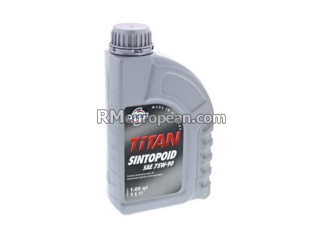 FUCHS TITAN SINTOPOID 75W-90 Gear Oil - Fuchs Titan Sintopoid - SAE 75W-90  Synthetic (1 Liter) 600891626