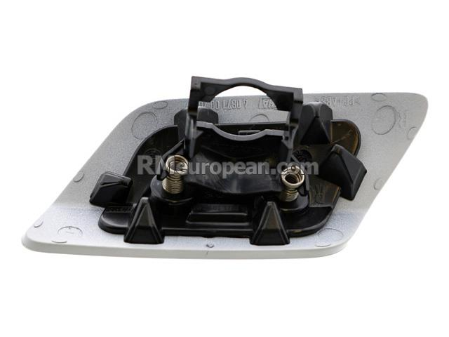 bmw genuine bmw cover flap headlight washer  bumper cover primered