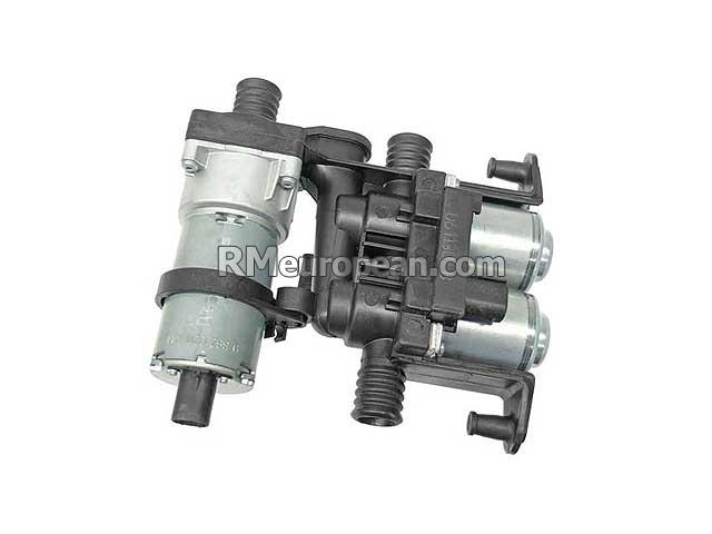 BMW Heater Control Valve with Auxiliary Water Pump GENUINE BMW 64118374994