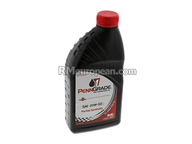 Volkswagen Fastback   1.6L H4 Engine Oil - PennGrade 1 - 20W-50 Semi-Synthetic High Performance (1 Quart)