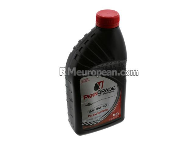Volkswagen Engine Oil - PennGrade 1 - 15W-40 Semi-Synthetic High Performance (1 Quart) PENNGRADE 1 7158CPG1