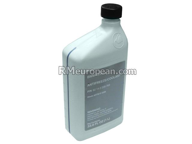 BMW 650i Base Convertible E64 4.8L V8 Coolant / Antifreeze (Blue) (1 Liter)