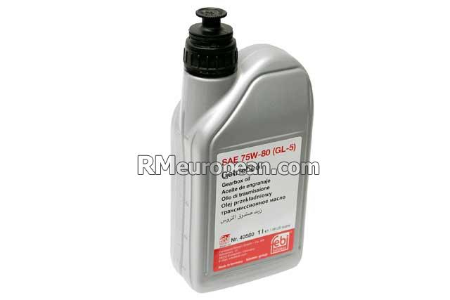 Mini Cooper Paceman S ALL4 Hatchback R61 1.6L L4 Manual Transmission Fluid - SAE 75W-80 Synthetic (1 Liter)