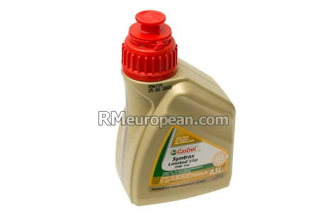 BMW M5 Sedan F10 4.4L V8 Differential Oil - SAE 75W-140 Synthetic