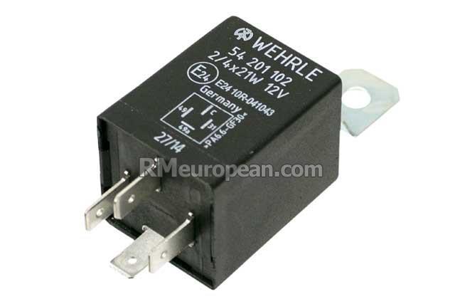 Porsche Wehrle Turn Signal   Hazard Flasher Relay  4 Pin  91461830311