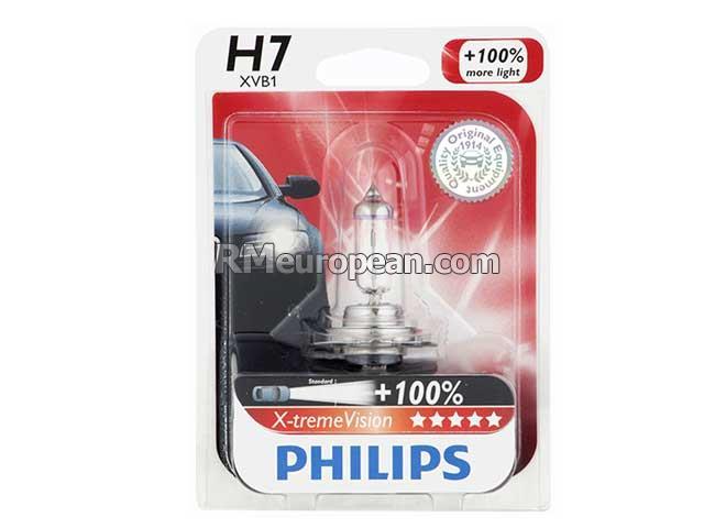 porsche philips x treme vision headlight bulb h7 halogen 12v 55w 99963113391. Black Bedroom Furniture Sets. Home Design Ideas