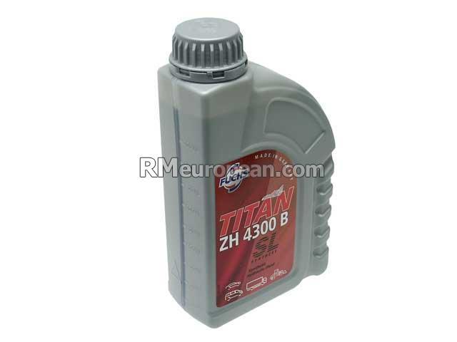 Mercedes benz fuchs titan zh 4300 b hydraulic system fluid for Mercedes benz hydraulic fluid