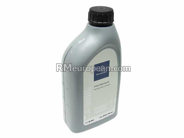 Mercedes-Benz Power Steering Fluid - (MBZ Approval:236.3) GENUINE MERCEDES Q1460001