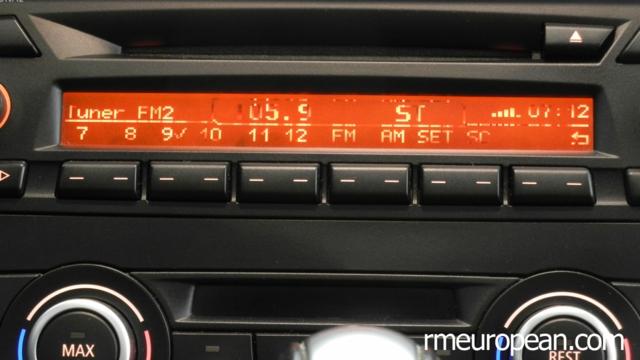 Bmw E90 E92 3 Series Radio Lcd Pixel Repair