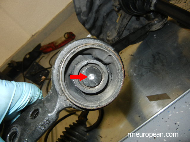 Bmw E46 325xi Or 330xi Control Arm Bushing Replacement