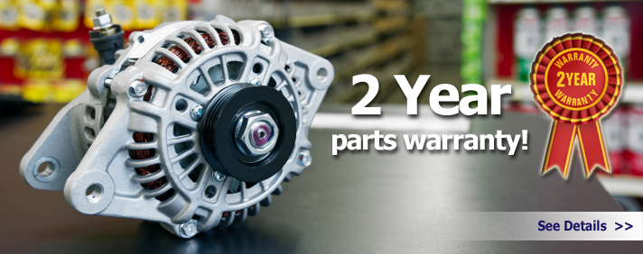 Two year warranty!
