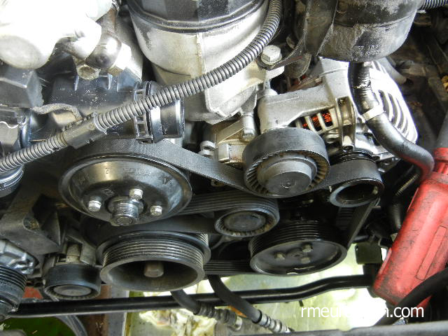 BMW E46 Cooling System Overhaul - Belt Routing