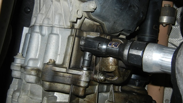 Mercedes GL450 removing the transfer case