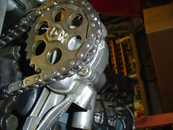 S52 Engine oil pump modification
