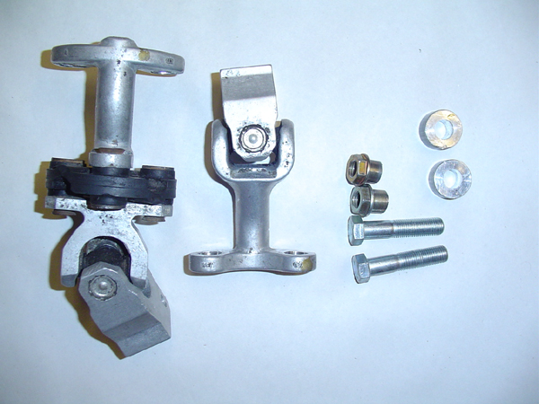 Parts needed to modify the E30 steering nuckle for close ratio steering rack.