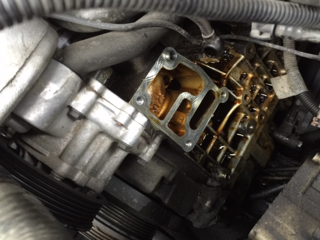 Oil Filter Housing Gasket Replacement - Housing Removed